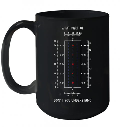 What part of don't you understand shirt Ceramic Mug 15oz