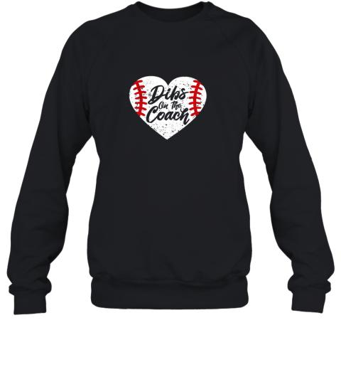 Dibs On The Coach Funny Baseball Sweatshirt