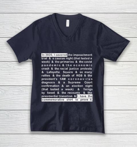 Jim Acosta V-Neck T-Shirt 2