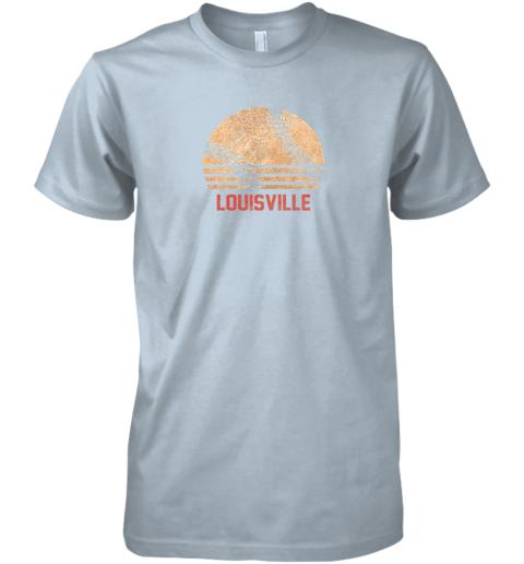 um82 vintage baseball louisville shirt cool softball gift premium guys tee 5 front light blue
