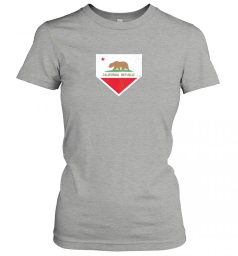 shvv vintage baseball home plate with california state flag ladies t shirt 20 front ash