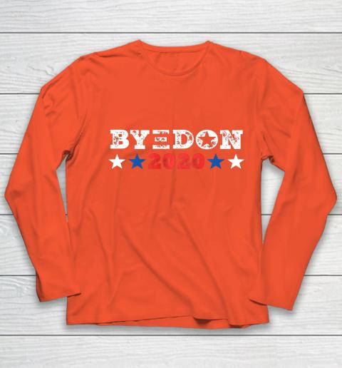 ByeDon Shirt 2020 Joe Biden 2020 American Election Bye Don Youth Long Sleeve 3