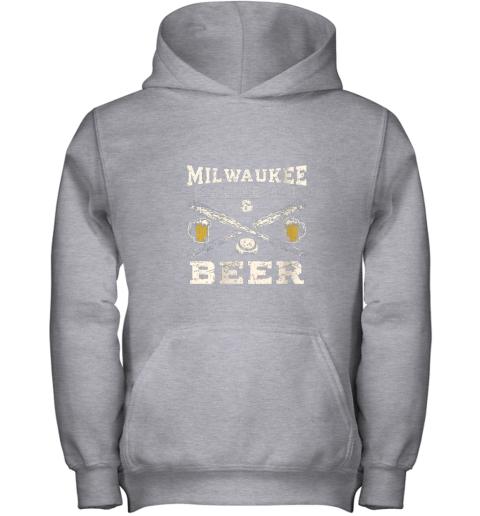 cpmk love milwaukee love baseball youth hoodie 43 front sport grey