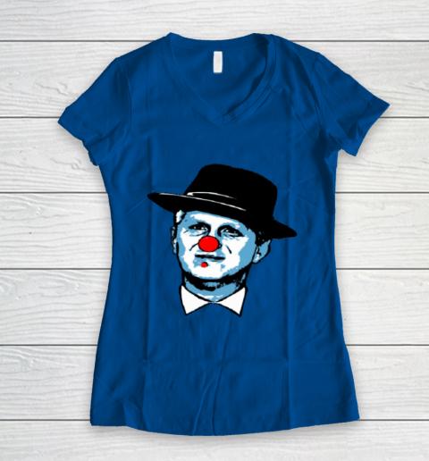 Barstool Rappaport Shirt Women's V-Neck T-Shirt 7