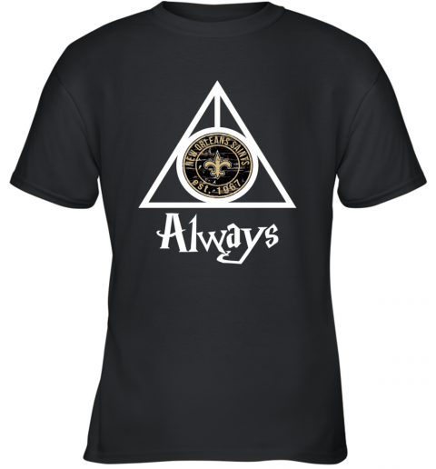 Always Love The New Orleans Saints x Harry Potter Mashup NFL Youth T-Shirt