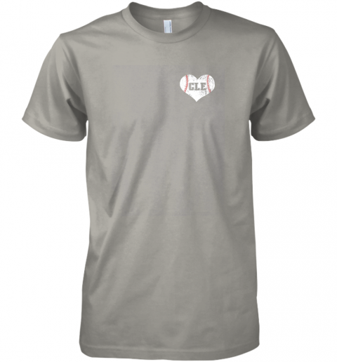 yazr vintage cleveland baseball sweatshirt ohio cle premium guys tee 5 front light grey