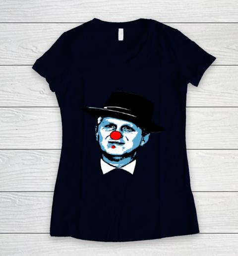 Barstool Rappaport Shirt Women's V-Neck T-Shirt 2