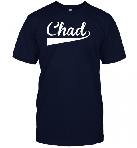 ovom chad country name baseball softball styled jersey t shirt 60 front navy