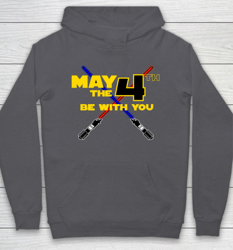 Star Wars Shirt May the Fourth Be With You Lightsaber Hoodie 4