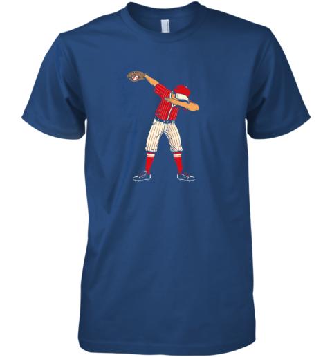 pipz dabbing baseball catcher gift shirt men boys kids bzr premium guys tee 5 front royal