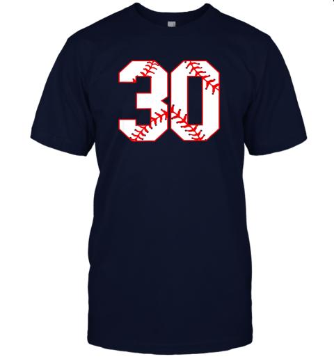 wezu thirtieth birthday party 30th baseball shirt born 1989 jersey t shirt 60 front navy