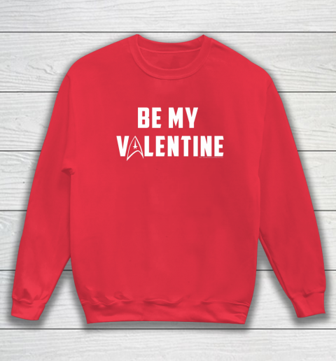 Star Trek Be My Valentine Delta Badge Graphic Sweatshirt 7