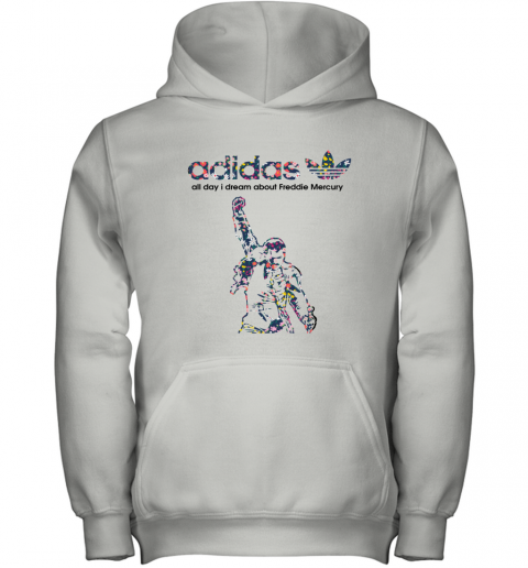 Adidas All Day I Dream About Freddie Mercury Floral Youth Hoodie
