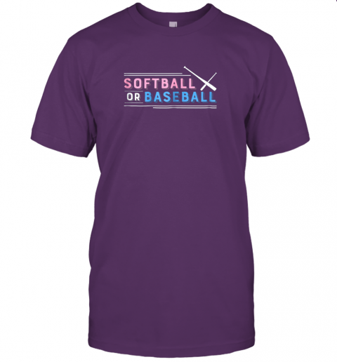 b0vz softball or baseball shirt sports gender reveal jersey t shirt 60 front team purple