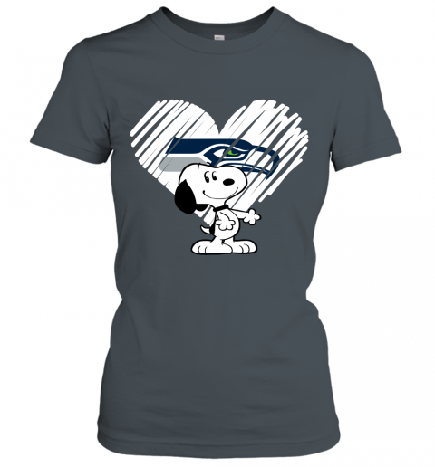 nlvl a happy christmas with seattle seahawks snoopy ladies t shirt 20 front dark heather