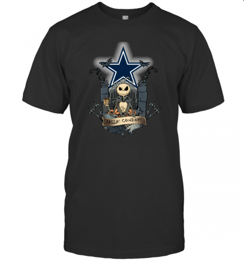 Dallas Cowboys Jack Skellington This Is Halloween T-Shirt