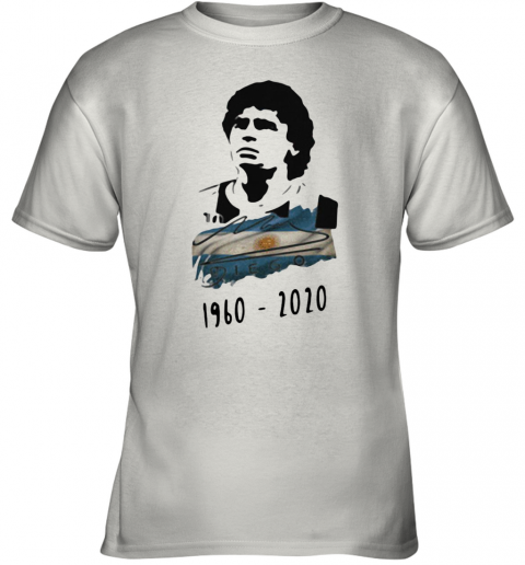 Argentina Football Diego Maradona 1960 2020 Youth T-Shirt