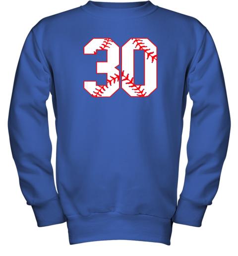 g99j thirtieth birthday party 30th baseball shirt born 1989 youth sweatshirt 47 front royal