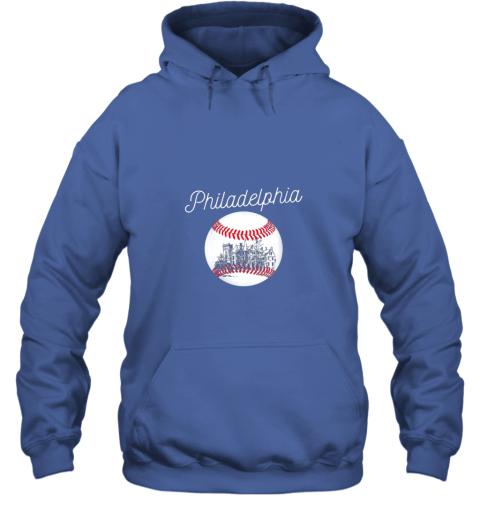 avzu philadelphia baseball philly tshirt ball and skyline design hoodie 23 front royal