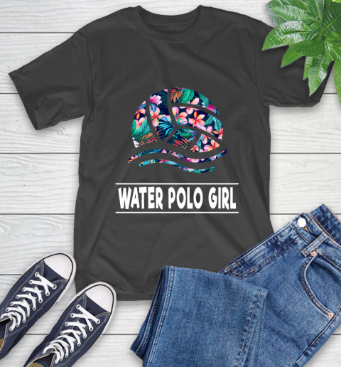 I'm A Water Polo Girl Love Flowers And Never Give Up