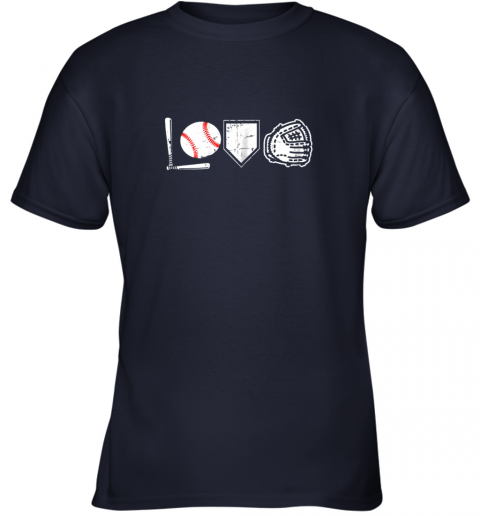 hqd1 i love baseball baseball heart youth t shirt 26 front navy