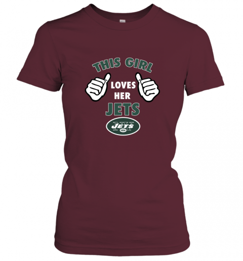 lltu this girl loves her new york jets ladies t shirt 20 front maroon