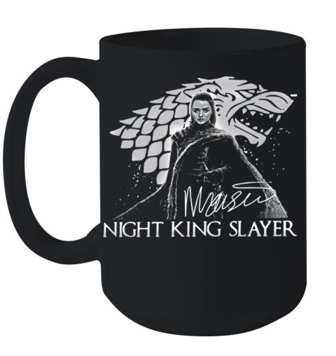 Arya Stark Night King Slayer Signature Ceramic Mug 15oz