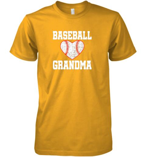 ryjq vintage baseball grandma funny gift premium guys tee 5 front gold