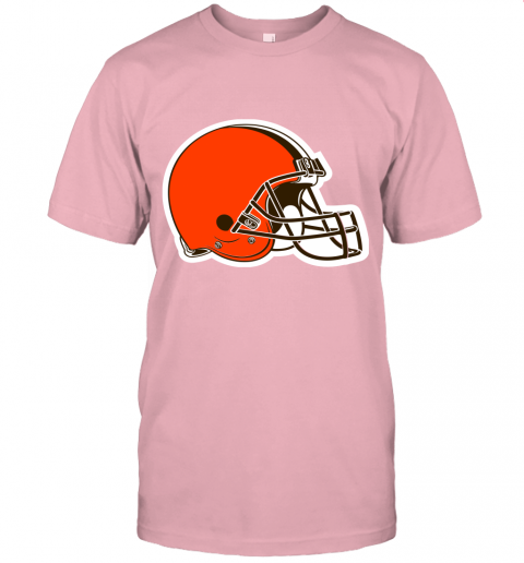 cpuw cleveland browns nfl pro line by fanatics branded brown victory jersey t shirt 60 front pink
