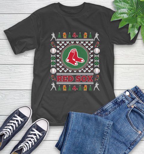 Boston Red Sox Merry Christmas Mlb Baseball Loyal Fan Ugly Shirt