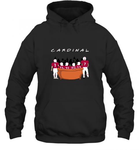 NFL Arizona Cardinals Together F.R.I.E.N.D.S Hoodie