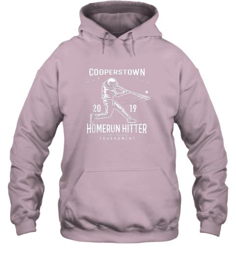 orvr cooperstown home run hitter hoodie 23 front light pink