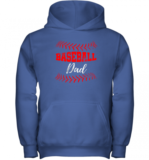 5nit mens baseball inspired dad fathers day youth hoodie 43 front royal