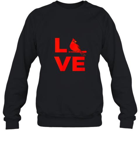 Classic Love St. Louis Missouri Baseball Fan Retro Gift Sweatshirt
