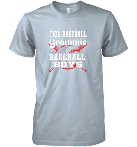 yoca this baseball grammie loves her baseball boys premium guys tee 5 front light blue