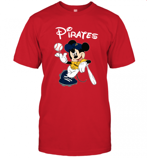 s0ws baseball mickey team pittsburgh pirates jersey t shirt 60 front red