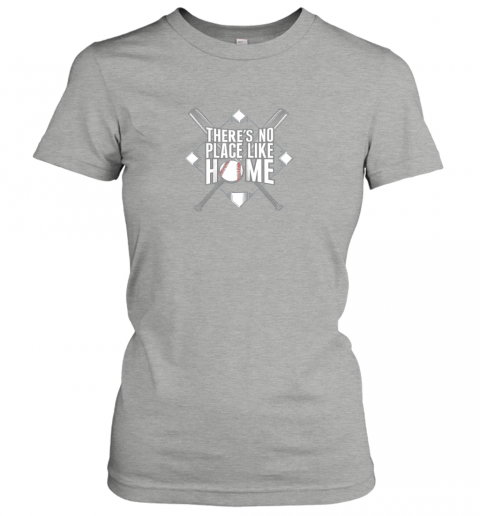 zoo1 there39 s no place like home baseball tshirt mom dad youth ladies t shirt 20 front ash