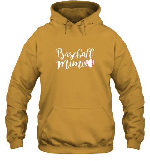 su3y funny baseball mimi shirt gift hoodie 23 front gold
