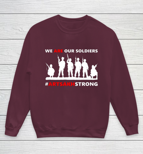 We Are Our Soldiers Youth Sweatshirt 4
