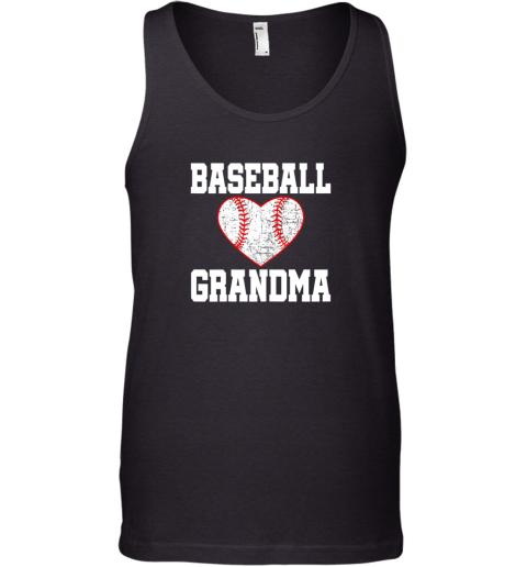 Vintage Baseball Grandma Funny Gift Tank Top
