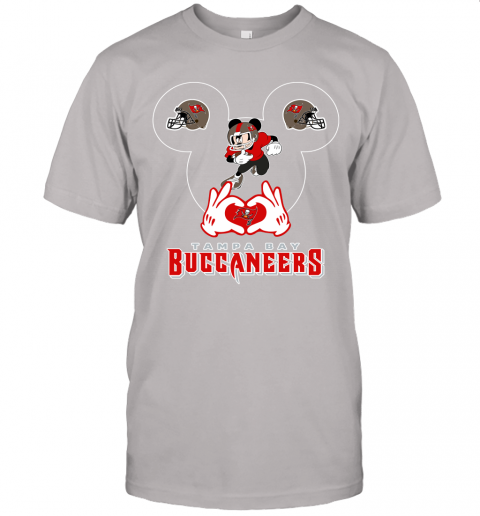 1zmc i love the buccaneers mickey mouse tampa bay buccaneers s jersey t shirt 60 front ash