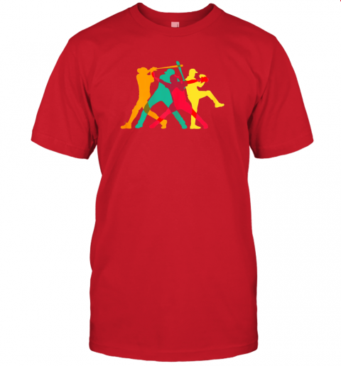 637s vintage baseball shirt gifts jersey t shirt 60 front red