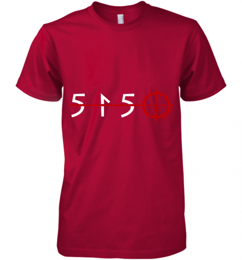 5qpt 501 premium guys tee 5 front red