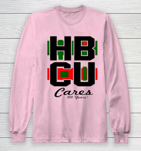 HBCU Cares College University Graduation Gift Black School Long Sleeve T-Shirt 6