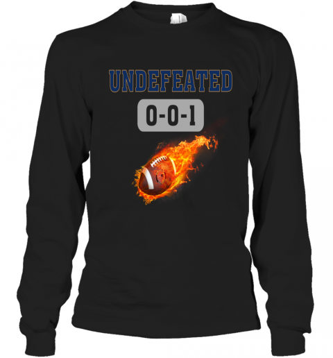 NFL NEW ENGLAND PATRIOTS LOGO Undefeated Long Sleeve T-Shirt