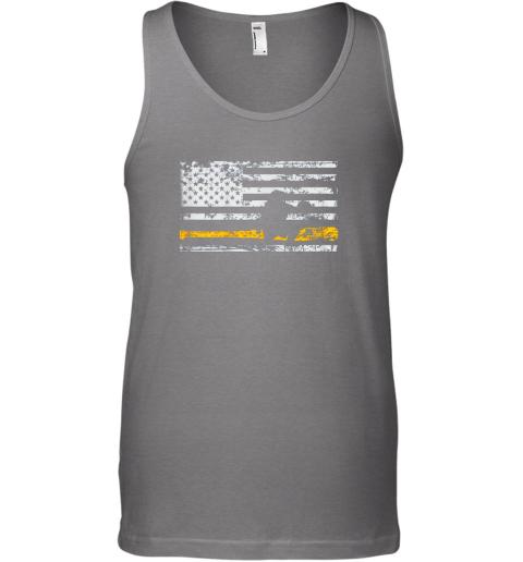 jkis softball catcher shirts baseball catcher american flag unisex tank 17 front graphite heather