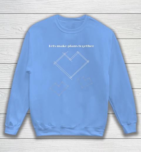 Valentine Architect T Shirt Heart Architecture Student Sweatshirt 8