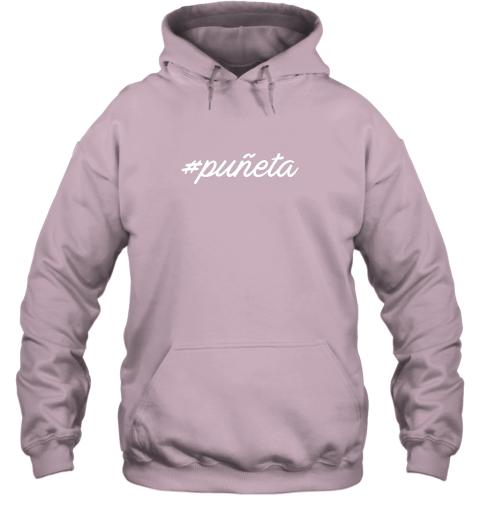 r5tt puerto rico baseball phrase hoodie 23 front light pink