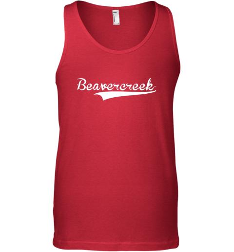 o4nk beavercreek baseball styled jersey shirt softball unisex tank 17 front red