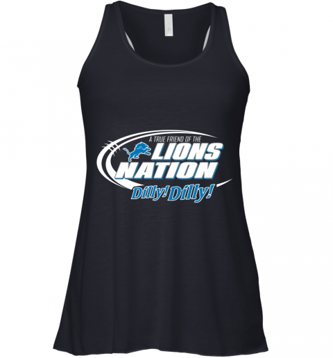 lvth a true friend of the lions nation flowy tank 32 front midnight